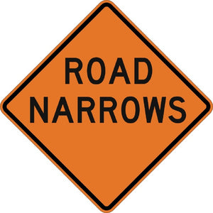 Road Narrows - Signs Everywhere USA