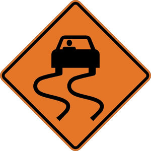 Slippery When Wet (Symbol) - Signs Everywhere USA