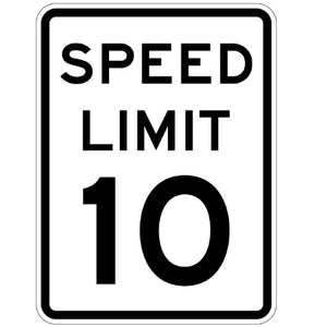 Speed Limit - Signs Everywhere USA