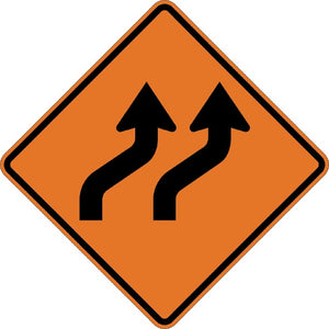 Two Lane Reverse Curve - Signs Everywhere USA