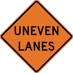 Uneven Lanes - Signs Everywhere USA