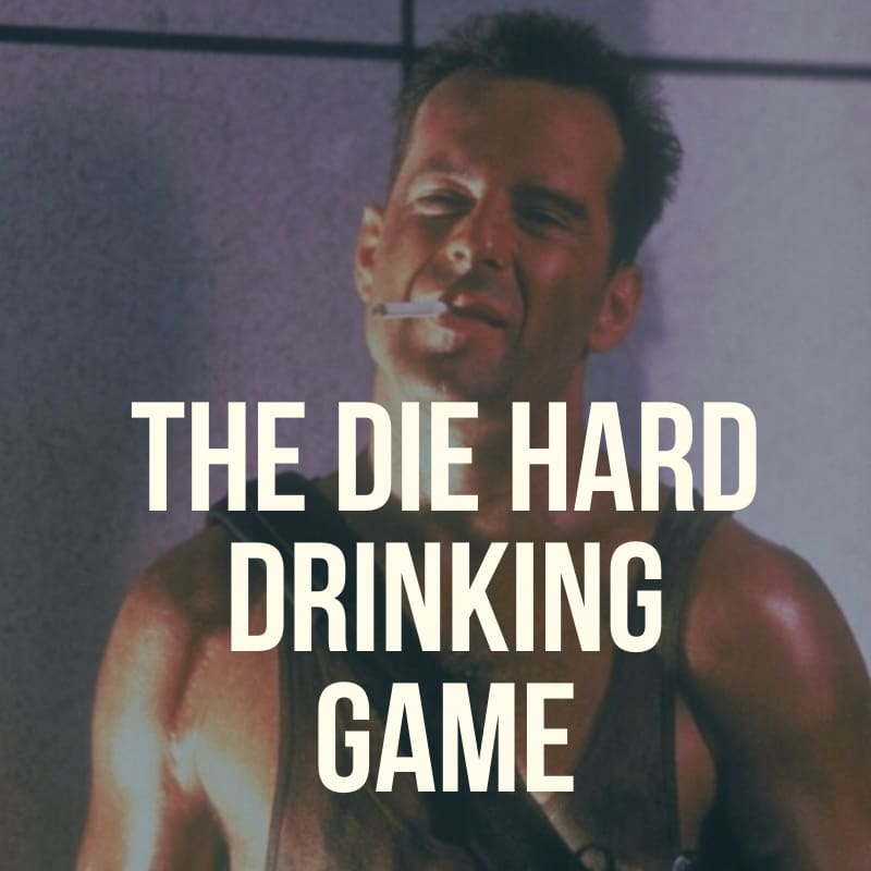 The Die Hard Drinking Game Popcorn Clothing