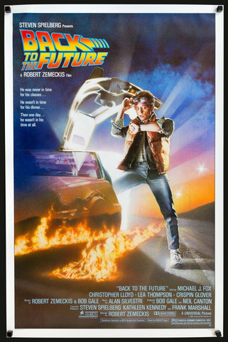 back to the future original poster