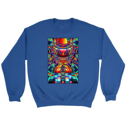 2001 Space Odyssey Vintage Sweatshirt - Sweat ras du cou / Royal / S - T-shirt