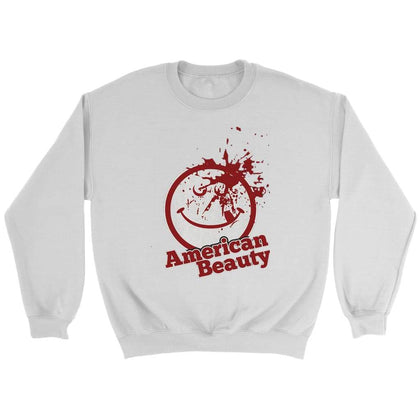 American Beauty Sweat - Sweat ras du cou / Blanc / S - T-shirt