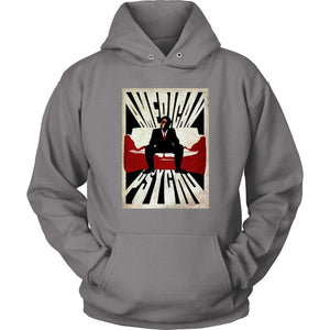American Psycho Alternative Hoodie - Unisex Hoodie / Grey / S - T-shirt