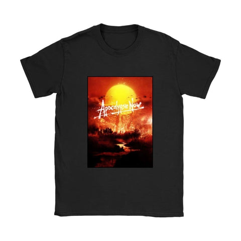 Apocalypse Now Damen T-Shirt - Gildan Damen T-Shirt / Schwarz / S - T-Shirt