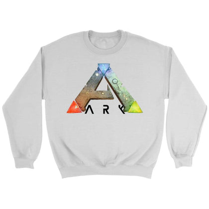 Ark Survival Evolved Sweatshirt - Sweat ras du cou / Blanc / S - T-shirt
