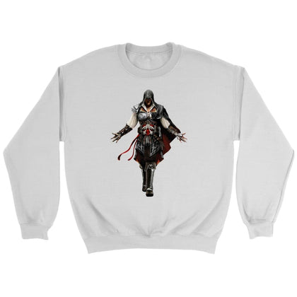 Assassin's Creed Ezio Sweatshirt - Sweat ras du cou / Blanc / S - T-shirt