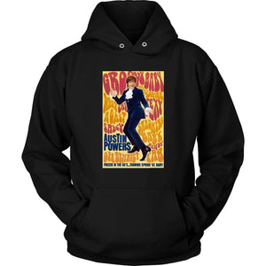 Austin Powers Hoodie - Unisex Hoodie / Black / S - T-shirt