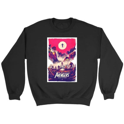 Avengers Age of Ultron jopica - Crewneck jopica / črna / S - majica