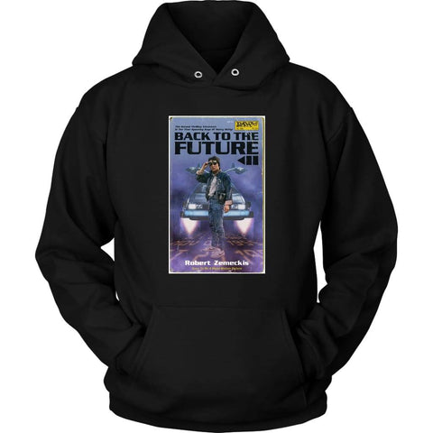 Back to the Future 2 Hoodie - Unisex Hoodie / Black / S - T-shirt