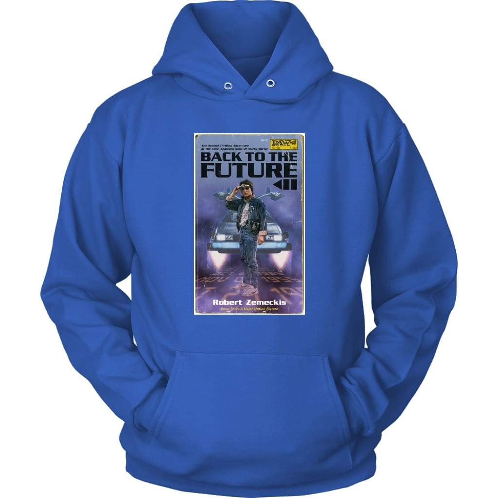 Επιστροφή στο Future 2 Hoodie - Unisex Hoodie / Royal Blue / S - T-shirt