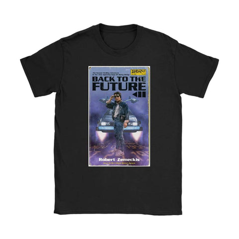 Back to the Future 2 Womens T-shirt - Gildan Womens T-Shirt / Black / S - T-shirt