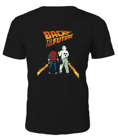 Back to the Future Marty and Doc T-shirt - T-shirt