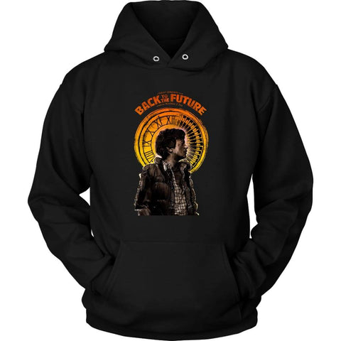 Back to the Future Marty McFly Hoodie - Unisex Hoodie / Black / S - T-shirt