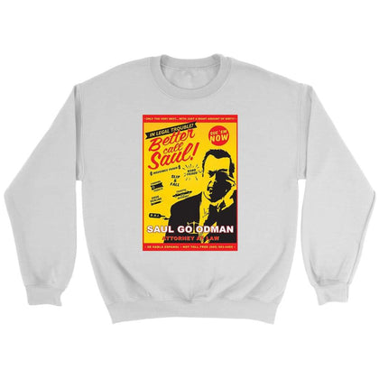 Better Call Saul Sweat - Sweat ras du cou / Blanc / S - T-shirt