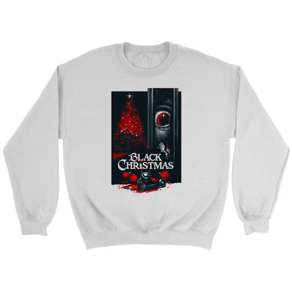 Black Christmas Sweat - Sweat ras du cou / Blanc / S - T-shirt