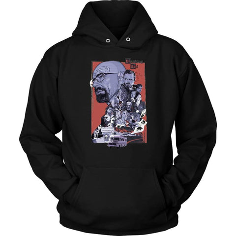 Breaking Bad Hoodie - Unisex Hoodie / Black / S - T-shirt