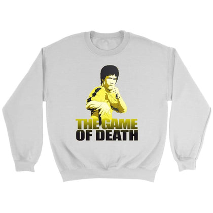 Bruce Lee Game of Death Sweatshirt - Sweat ras du cou / Blanc / S - T-shirt