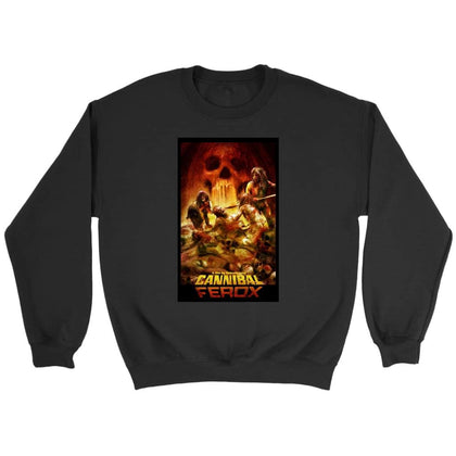 Cannibal Ferox Sweat - Sweat ras du cou / Noir / S - T-shirt