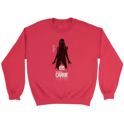 Carrie Sweatshirt - Sweat ras du cou / Rouge / S - T-shirt