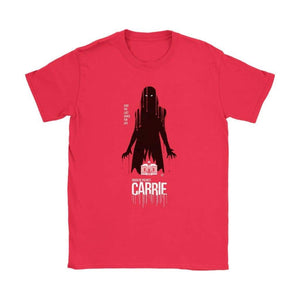 Carrie Womens T-shirt - Gildan Womens T-Shirt / Red / S - T-shirt