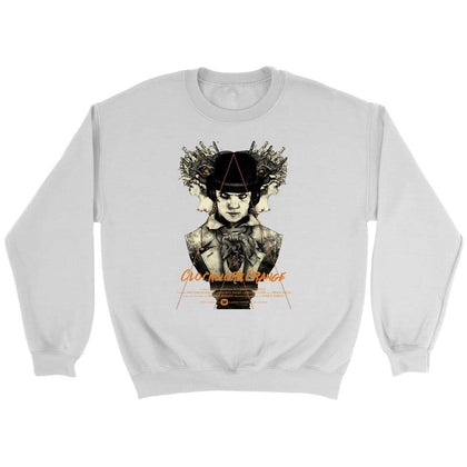 Clockwork Orange Sweatshirt - Sweat ras du cou / Blanc / S - T-shirt