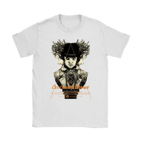 Clockwork Orange Womens T-shirt - Gildan Womens T-Shirt / White / S - T-shirt