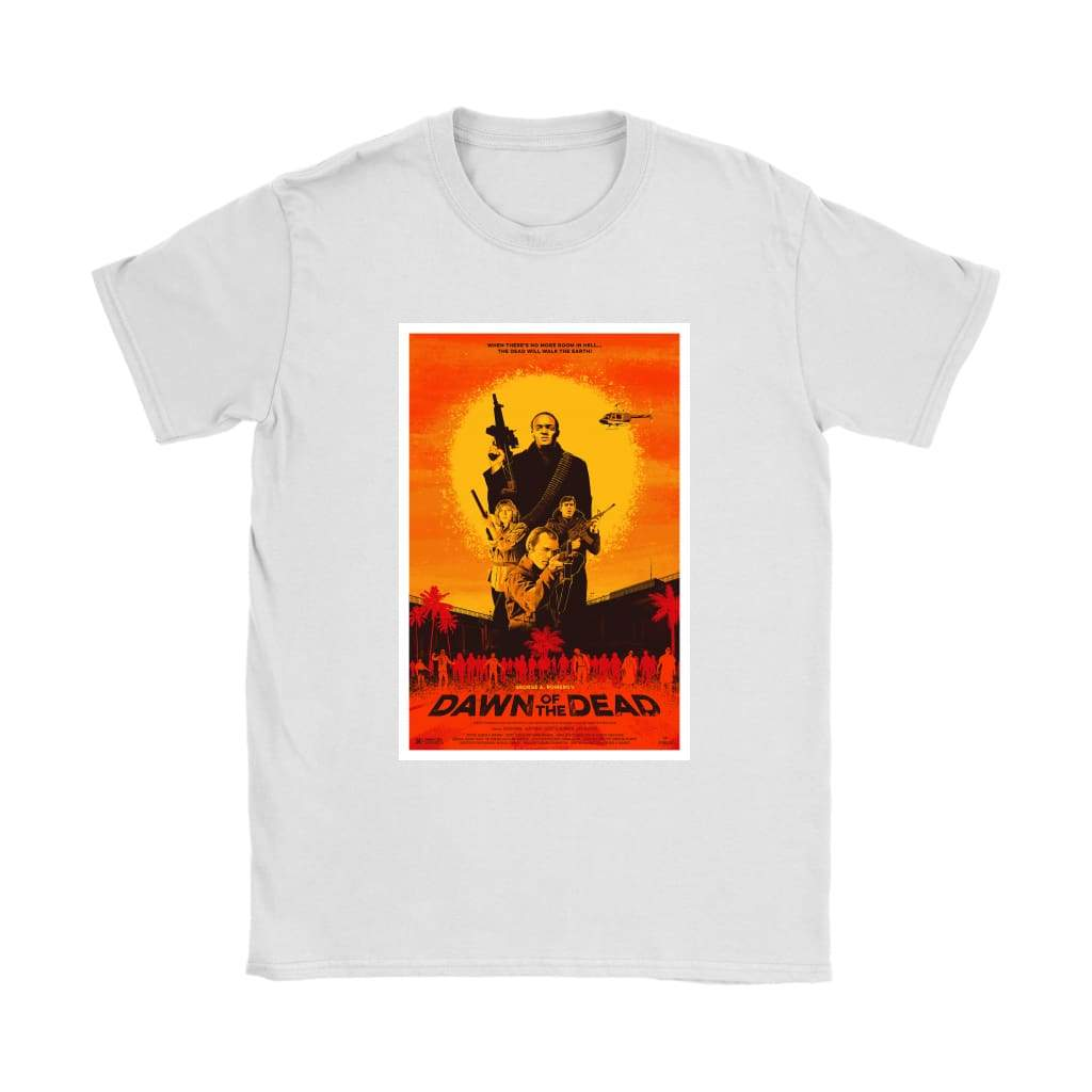 T-shirt της Dawn of the Dead - Γιλέκα Gildan Womens T-Shirt / Λευκό / S - T-shirt