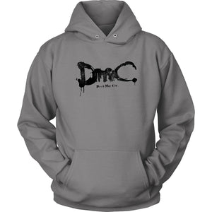 Devil May Cry DmC Hoodie - Unisex Hoodie / Grey / S - T-shirt