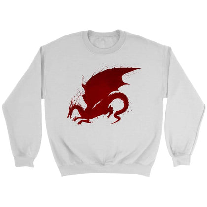 Dragon Age Sweat Origins - Sweat ras du cou / Blanc / S - T-shirt