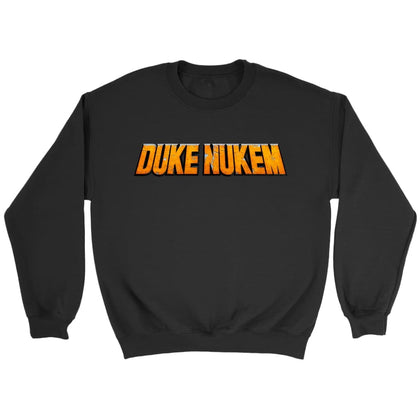 Duke Nukem Sweat-shirt à logo - Sweat ras du cou / Noir / S - T-shirt