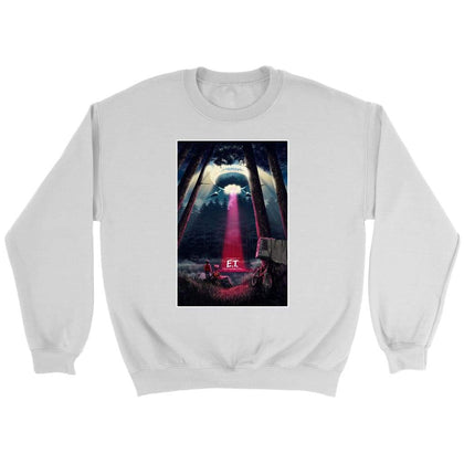 ET Alternative Sweatshirt - Sweat ras du cou / Blanc / S - T-shirt