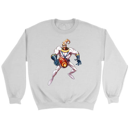 Earthworm Jim Sweat - Sweat ras du cou / Blanc / S - T-shirt