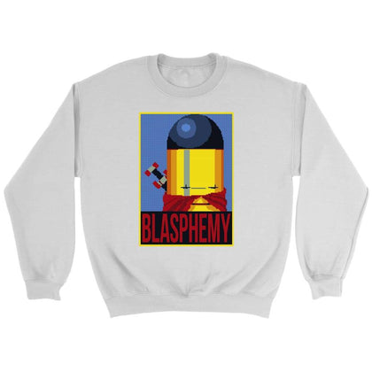 Enter the Gungeon Blasphemy Sweatshirt - Sweat ras du cou / Blanc / S - T-shirt