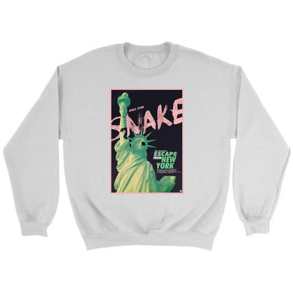 Escape from New York Sweat - Sweat ras du cou / Blanc / S - T-shirt