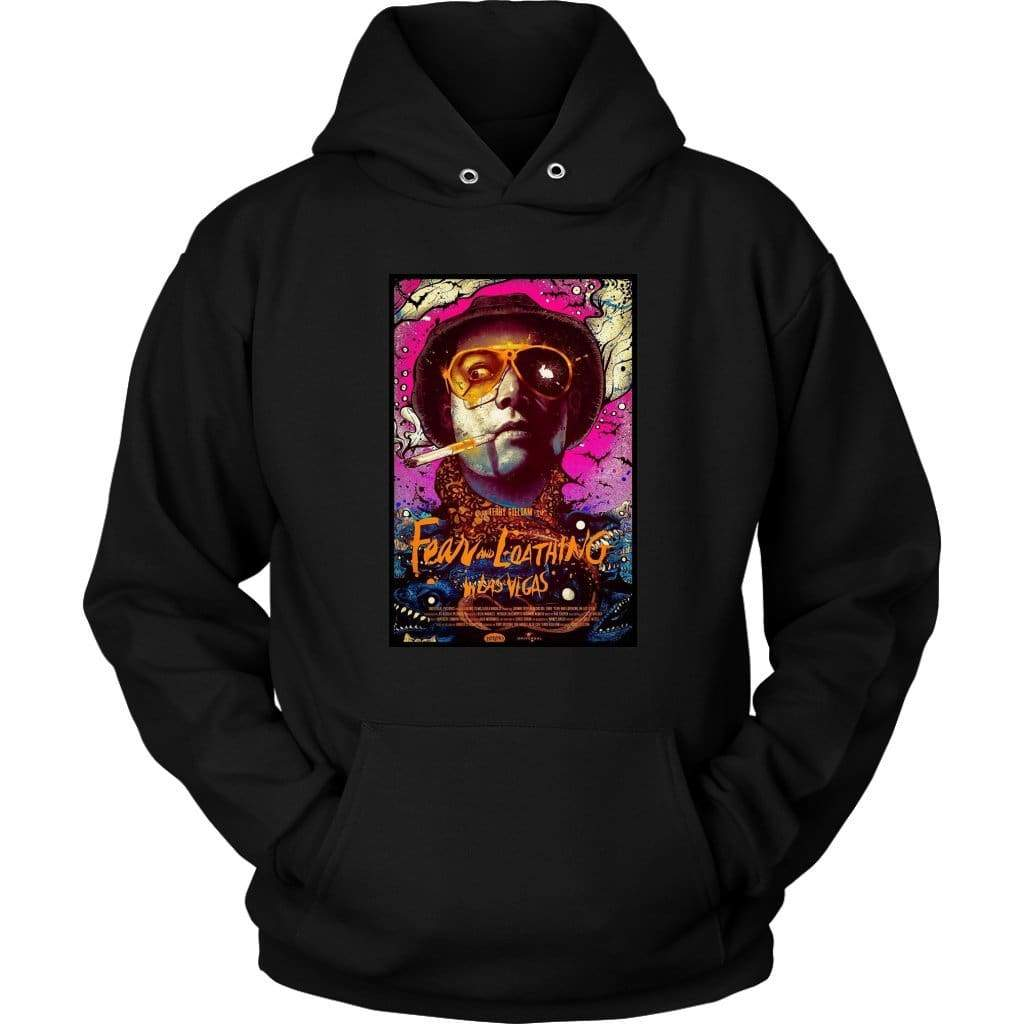 Fear and Loathing in Las Vegas Duke Hoodie - Унисекс качулка / черен / S - тениска