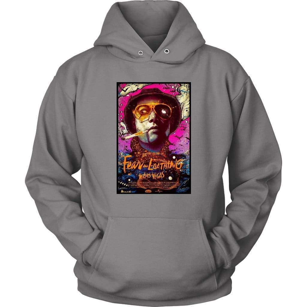 Fear and Loathing in Las Vegas Duke Hoodie - Унисекс качулка / сив / S - тениска