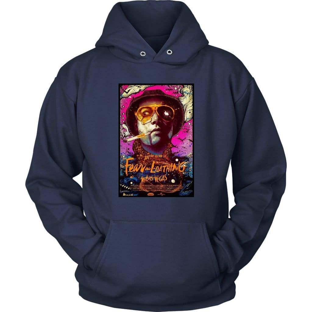 Fear and Loathing in Las Vegas Duke Hoodie - Унисекс качулка / флот / S - тениска