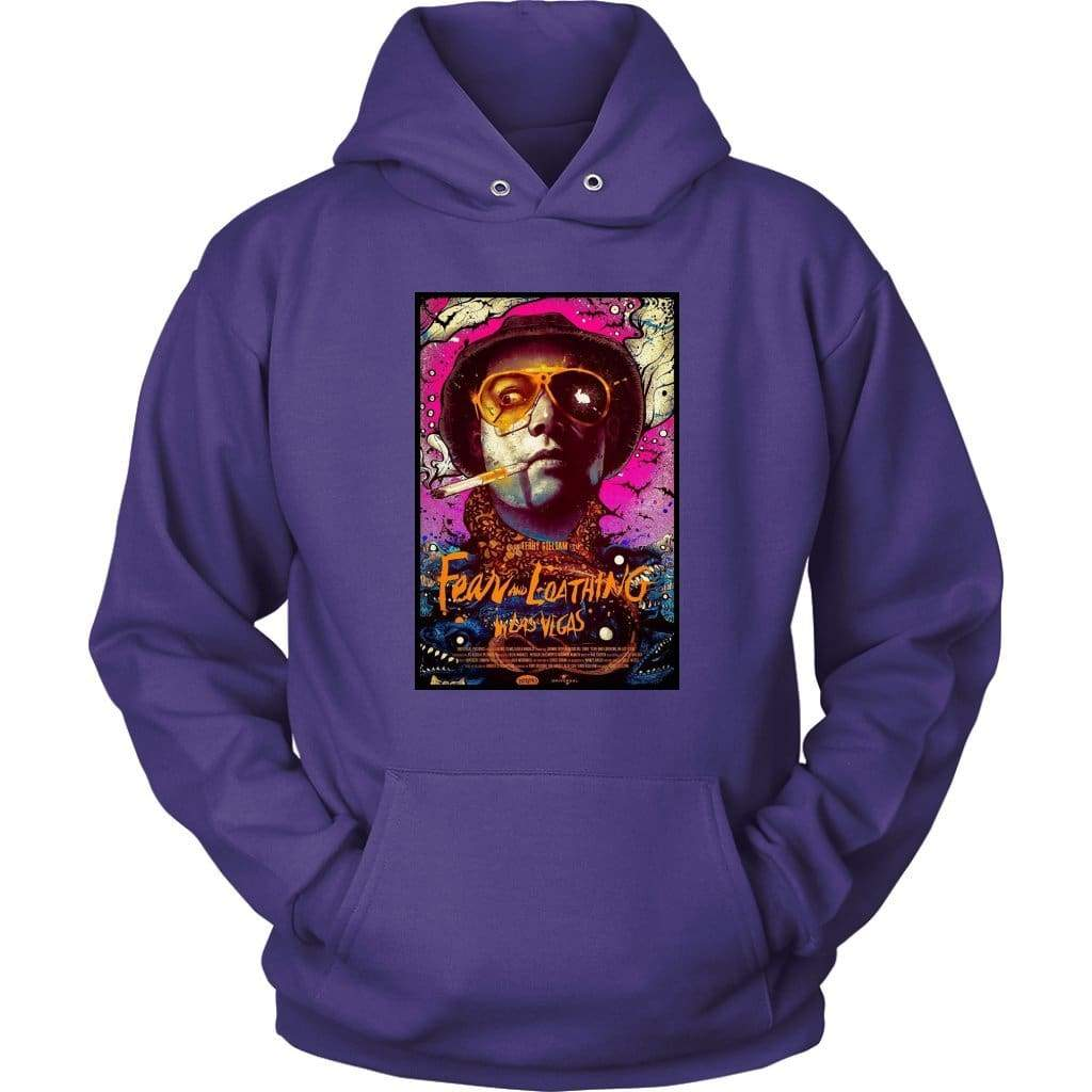 Fear and Loathing in Las Vegas Duke Hoodie - Унисекс качулка / лилав / S - тениска