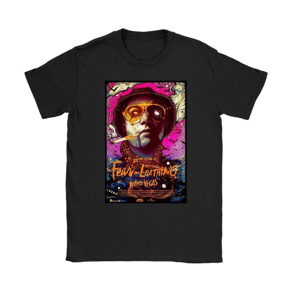 Fear and Loathing in Las Vegas T-shirt Duke Womens - T-shirt Gildan Γυναικών / Μαύρο / S - T-shirt