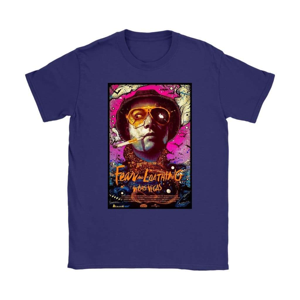 Fear and Loathing in Las Vegas Δερμάτινη μπλούζα Duke Womens - T-Shirt της Gildan Womens / Μωβ / S - T-shirt