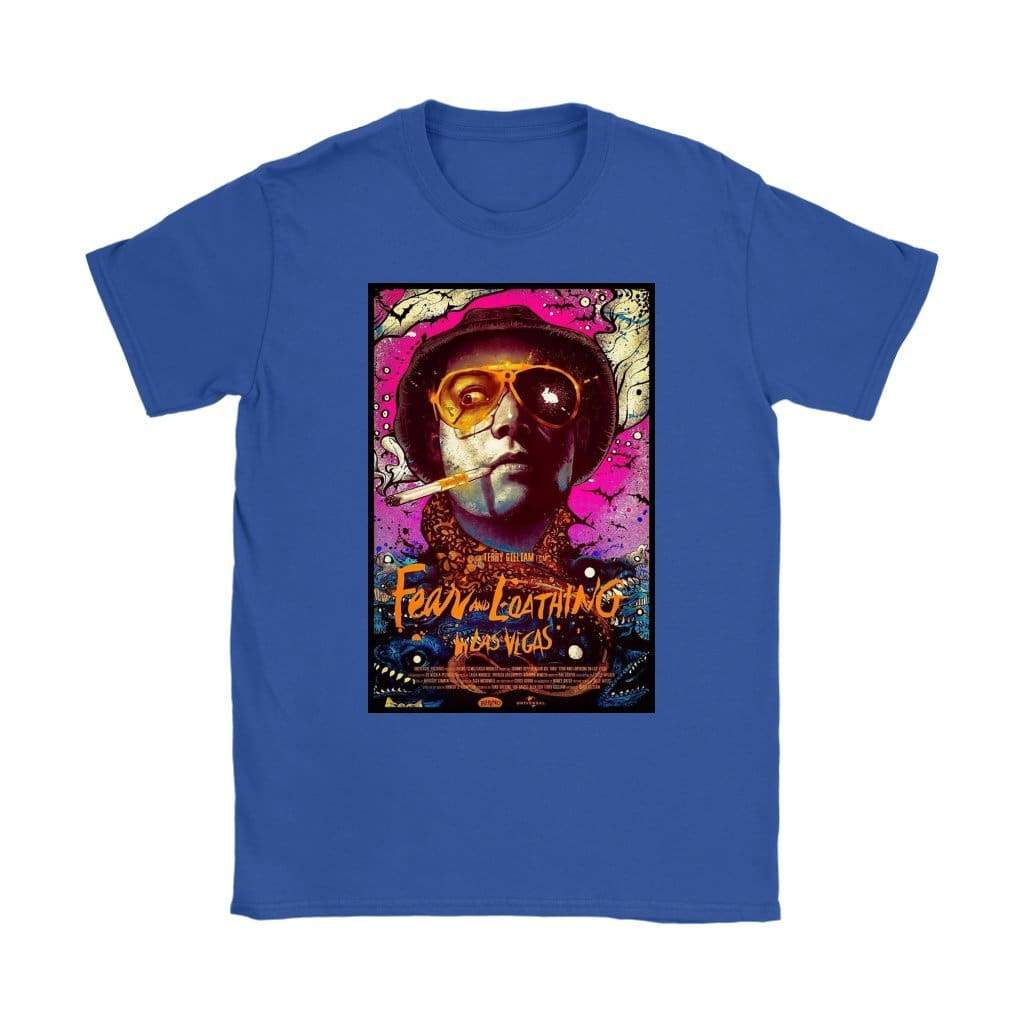 Fear and Loathing in Las Vegas T-shirt Duke Womens - T-shirt Gildan Womens / Royal Blue / S - T-shirt