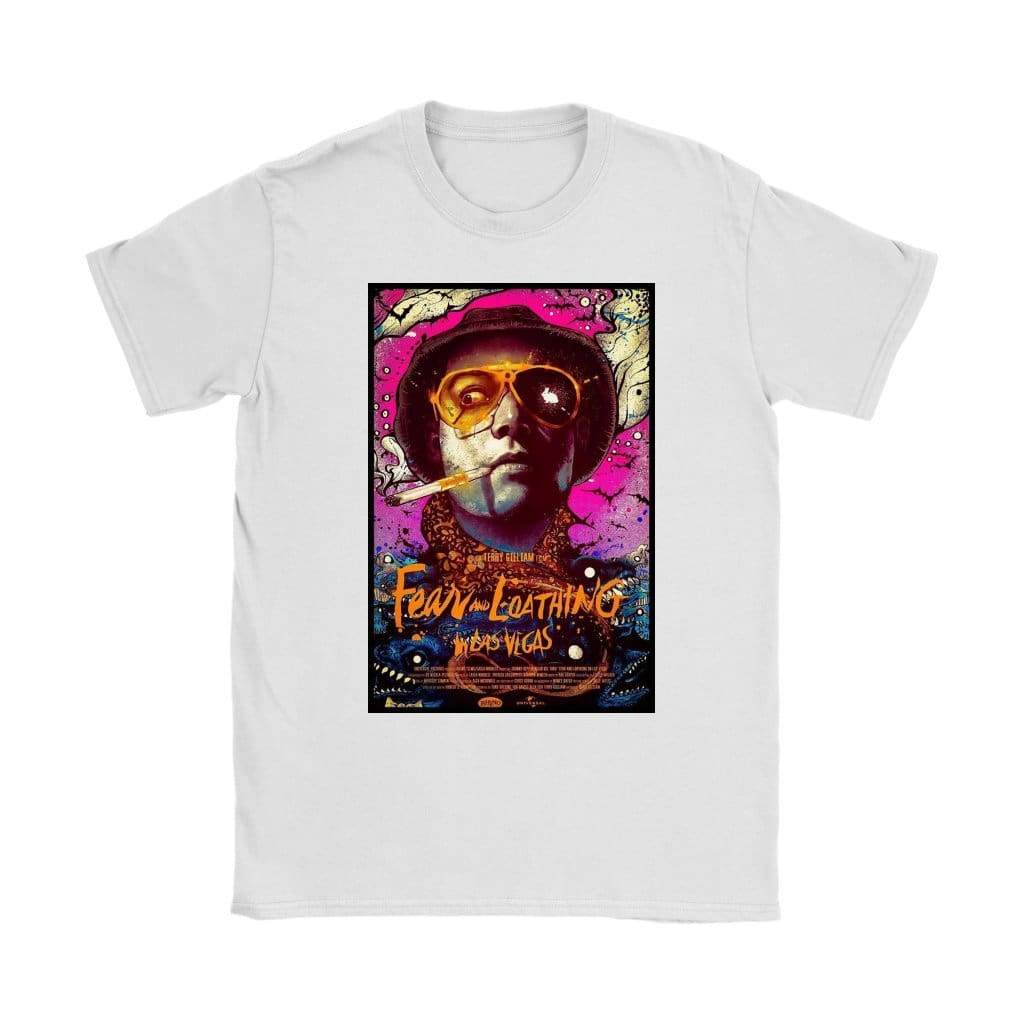 Fear and Loathing in Las Vegas T-shirt Duke Womens - T-shirt Gildan Womens / Λευκό / S - T-shirt