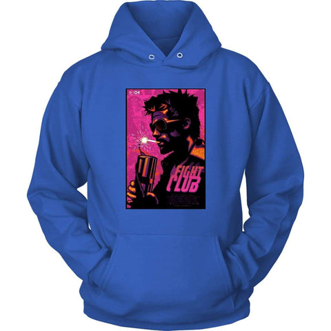Fight Club Alternative Hoodie - Unisex Hoodie / Royal Blue / S - T-shirt