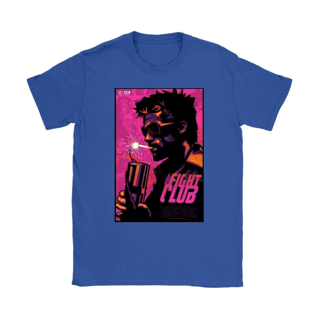 Fight Club Alternatives Damen T-Shirt - Gildan Damen T-Shirt / Royal Blue / S - T-Shirt