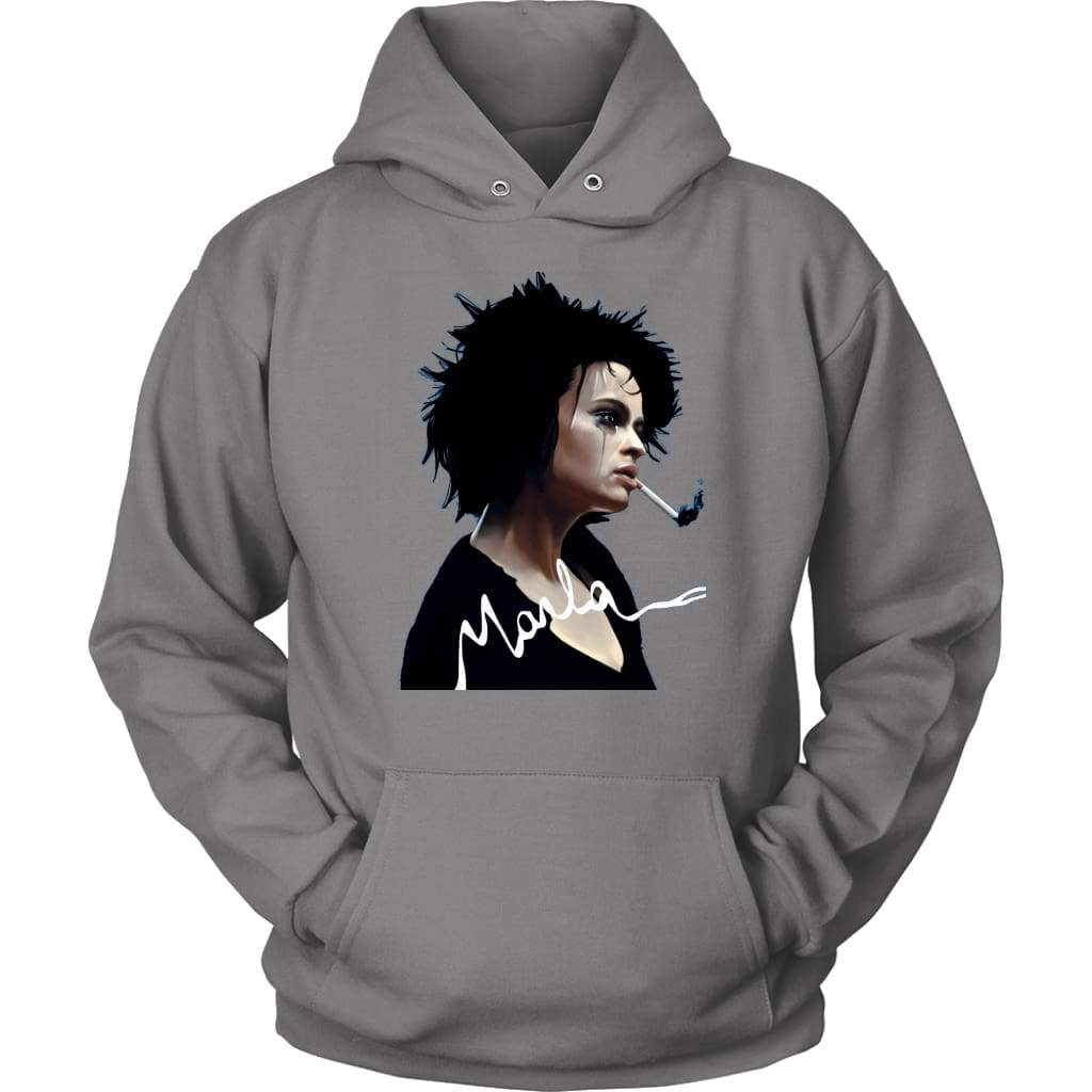 Fight Club Marla Hoodie - Unisex Hoodie / Γκρι / S - T-shirt