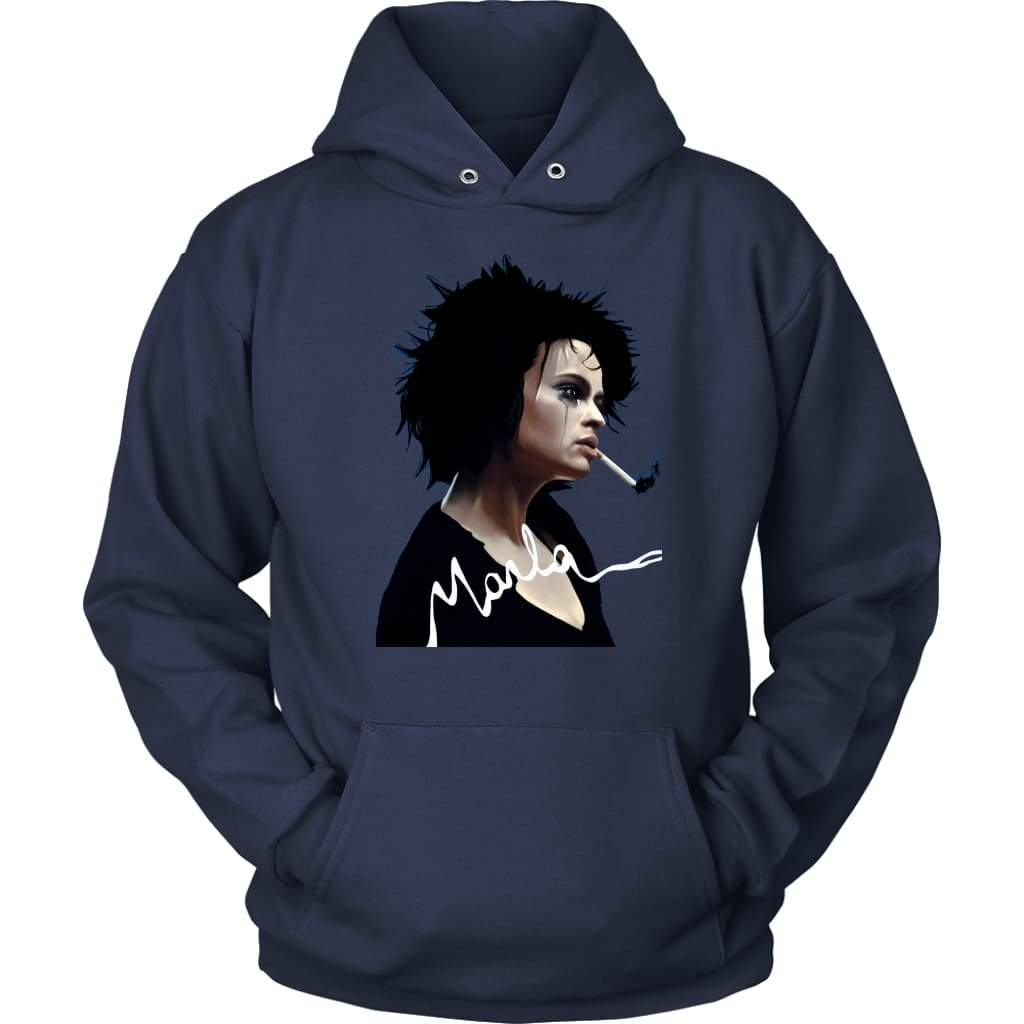 Fight Club Marla Hoodie - Unisex Hoodie / Ναυτικό / S - T-shirt