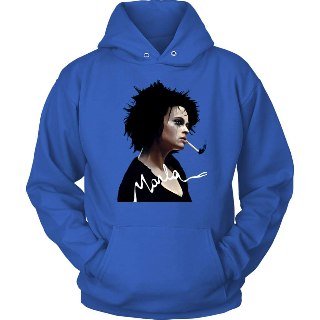 Fight Club Marla Hoodie - Unisex Hoodie / Royal Blue / S - Μπλουζάκι